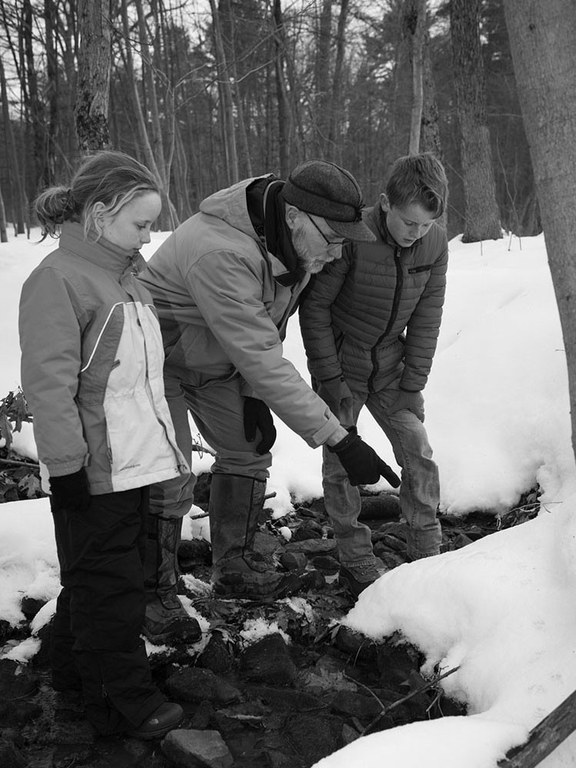 Future Forest Steward is designed for implementation by teachers, youth-group leaders, and other adults working with youth (ages 8-12). Michael Houtz photo