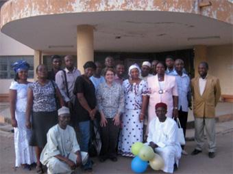 Short course group photo
