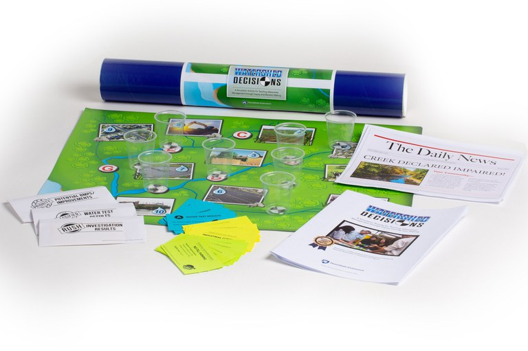 Watershed Decisions Activity Board and Components