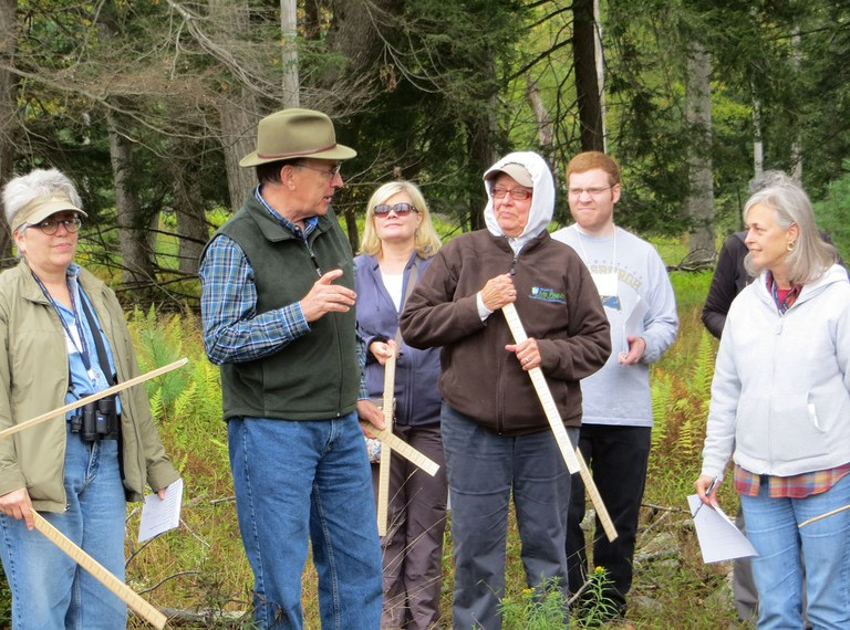 For decades, Jim Finley shared his knowledge and deep understanding of the woods with peer volunteers attending forest stewardship training programs.
