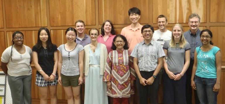 The Schatz Center group, summer 2013