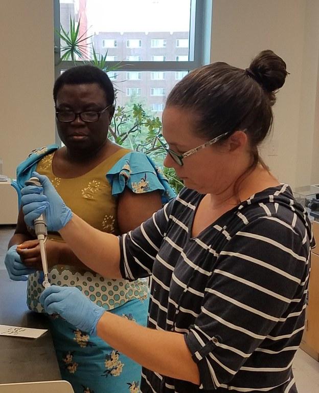 Dorothy training with Nicole Zembower, 2018.jpg